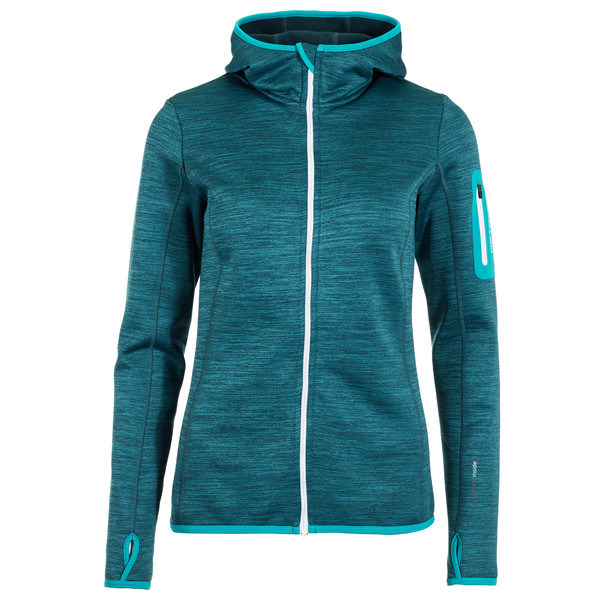 Fleece Melange Hoody
