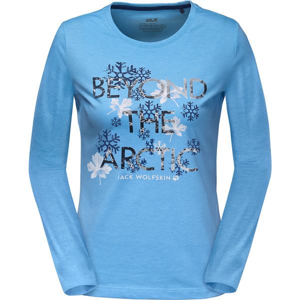 Jack Wolfskin Ice Crystal Longsleeve Frauen - Langarmshirt