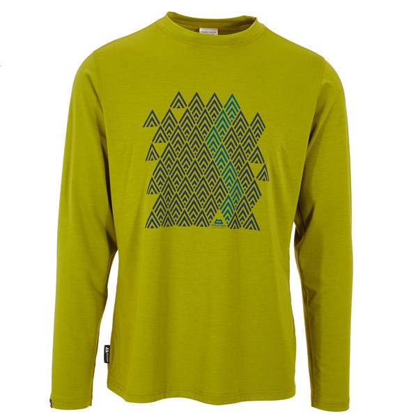 Mountain Equipment Zig Zag L/S Tee Männer - Funktionsshirt
