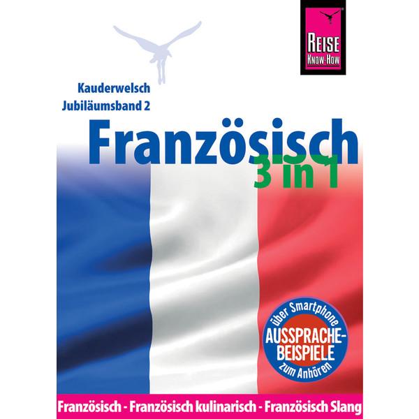 RKH KAUDERWELSCH FRANZÖSISCH 3 IN 1 - Sprachführer