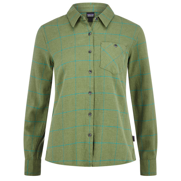 Patagonia Heywood Flannel Shirt Frauen - Outdoor Bluse