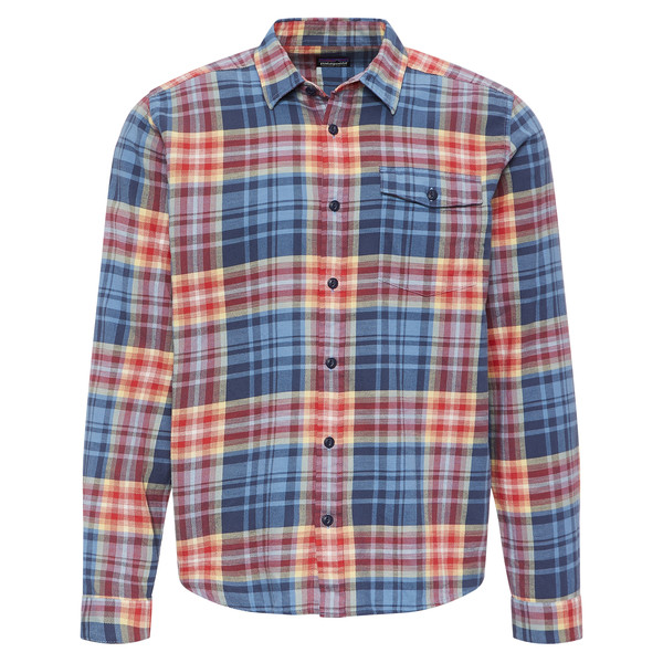 Patagonia LW Fjord Flannel Shirt Männer - Outdoor Hemd