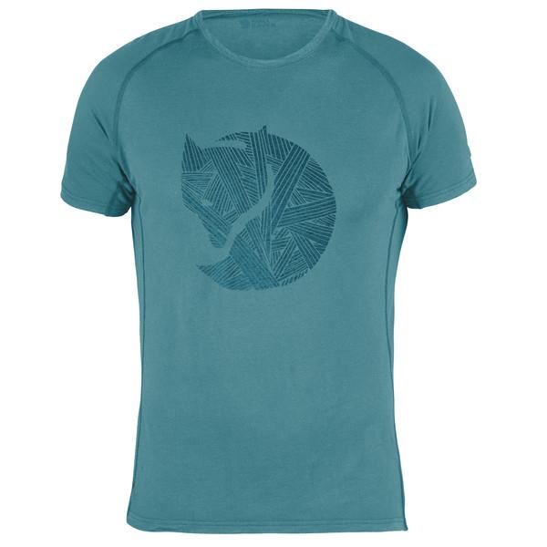 Fjällräven ABISKO TRAIL T-SHIRT PRINT M Männer - T-Shirt