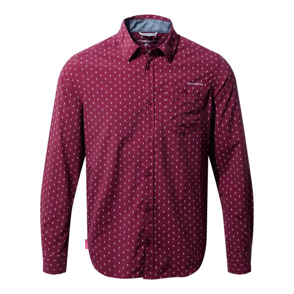 Craghoppers NosiLife Todd L/S Shirt Männer - Mückenschutz Kleidung