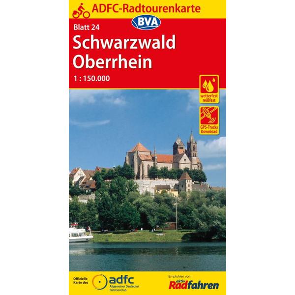 ADFC 24 Schwarzwald/Oberrhein 1:150.000