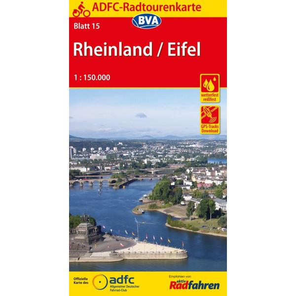 ADFC 15 Rheinland / Eifel 1:150.000