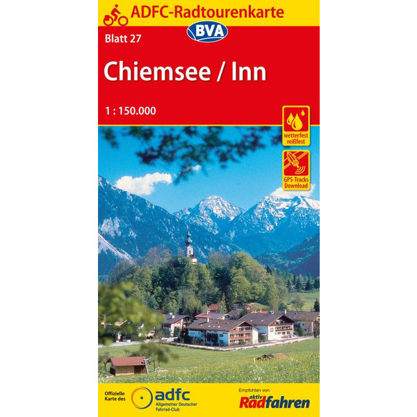 ADFC 27 Chiemsee / Inn  1:150.000
