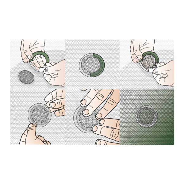 Mückennetz Reparaturkit