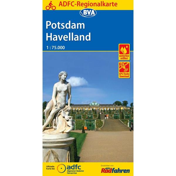 ADFC-Regionalkarte Potsdam Havelland