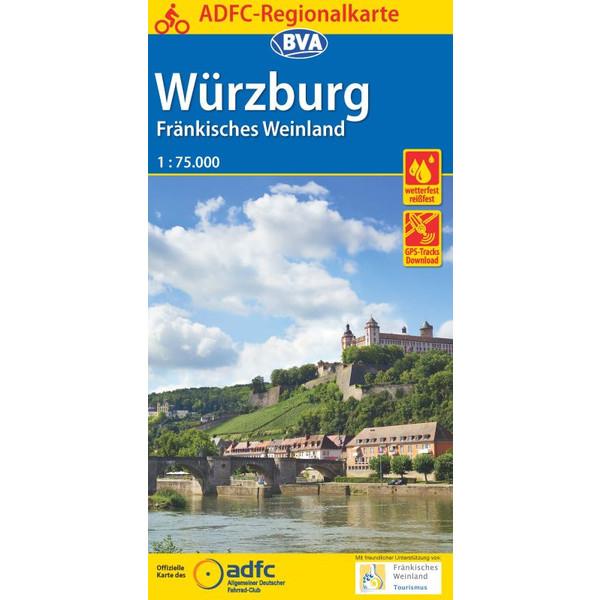 ADFC-Regionalkarte Würzburg