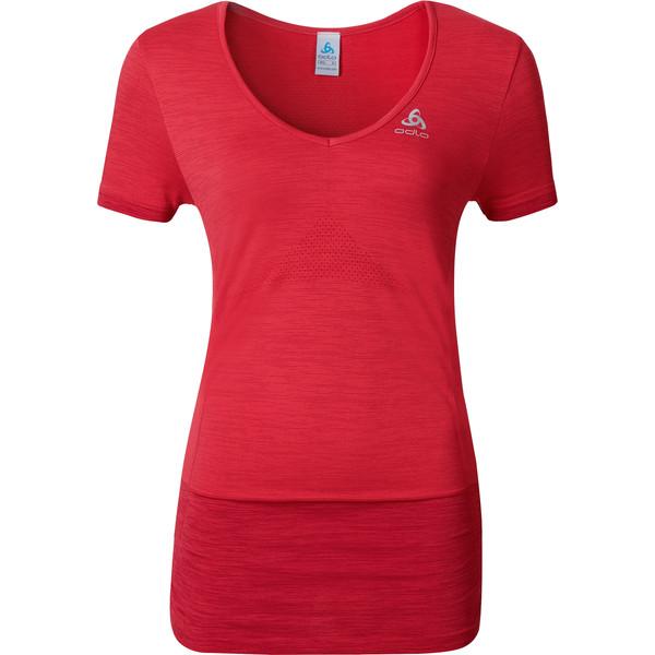 Odlo Kamilera Shirt s/s v-neck Frauen - Funktionsshirt