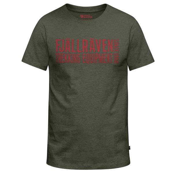 Fjällräven EQUIPMENT BLOCK T-SHIRT Männer - T-Shirt