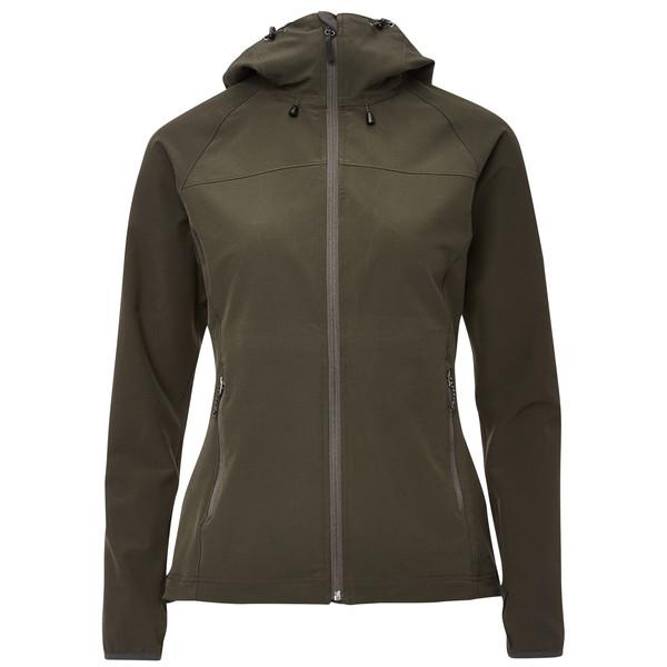 FRILUFTS Ennskraxn Hooded Softshell Jacket Frauen - Softshelljacke