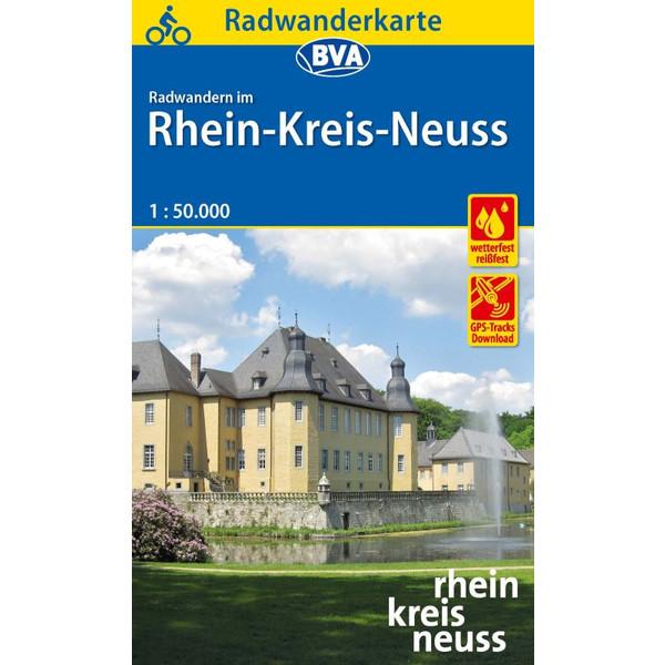 Radwanderkarte Rhein-Kreis Neuss
