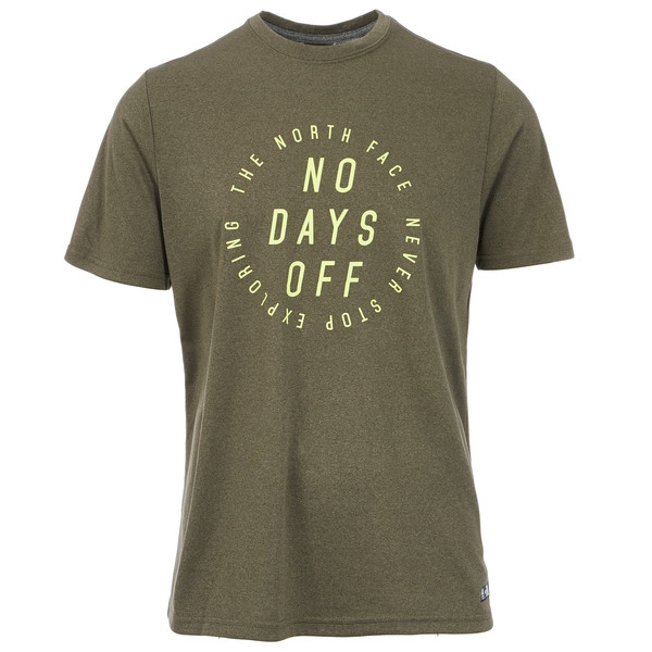 The North Face MA GRAPHIC REAXION AMP CREW Männer - Funktionsshirt