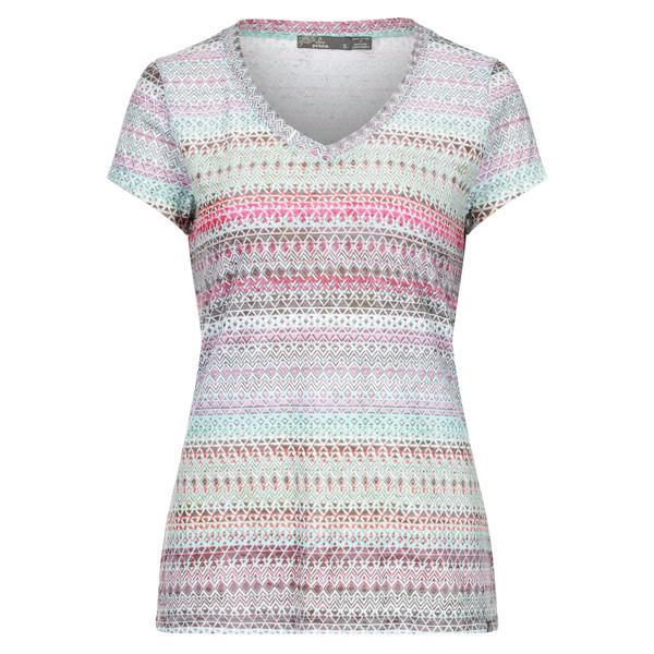Prana Portfolio V Neck Top S/S Frauen - T-Shirt