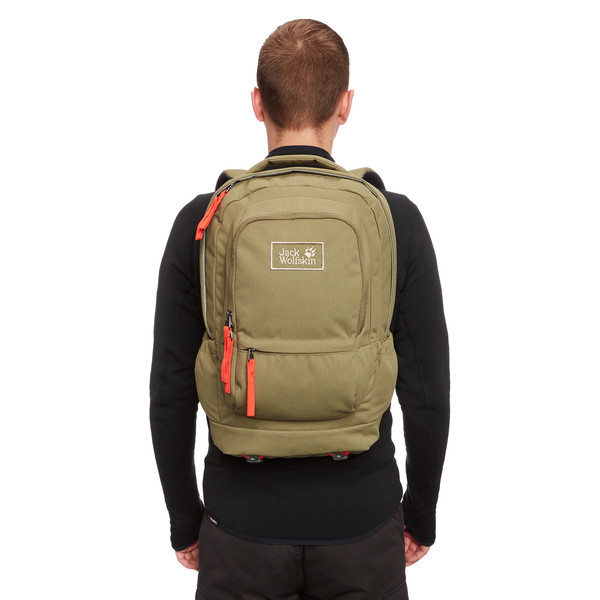 Jack Wolfskin Road Kid Pack Rucksack Burnt Olive 20 L You