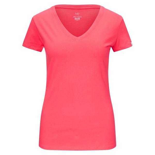 Arc'teryx Tall Timber V-neck T-Shirt S/S Frauen - T-Shirt