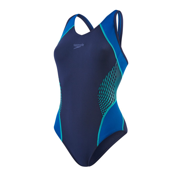 Speedo Speedo Fit Splice Muscleback Frauen - Badeanzug