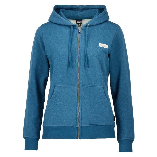 Patagonia Pastel P-6 Label MW FZ Hoody Frauen - Sweatshirt