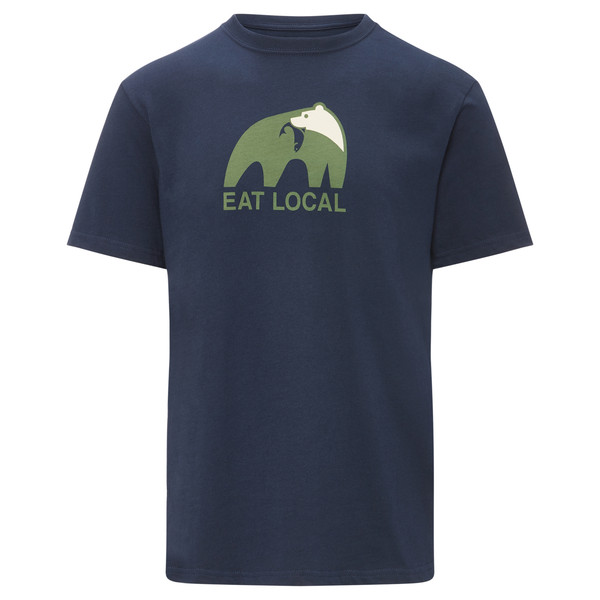 Patagonia Eat Local Upstream Cotton T-Shirt Männer - T-Shirt