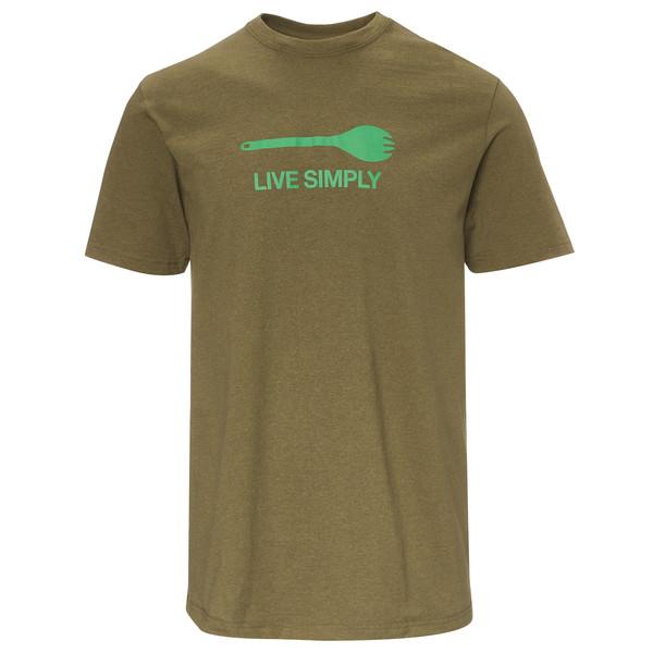Patagonia Live Simply Spork Cotton Tee Männer - T-Shirt