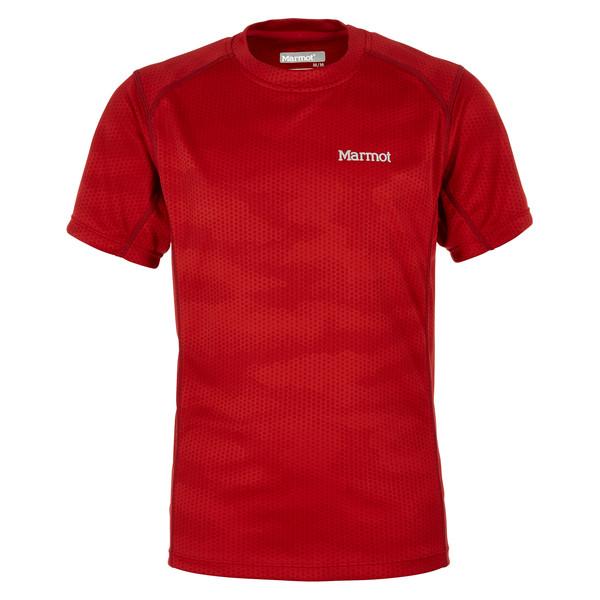 Marmot Boy's Cyclone SS Kinder - T-Shirt