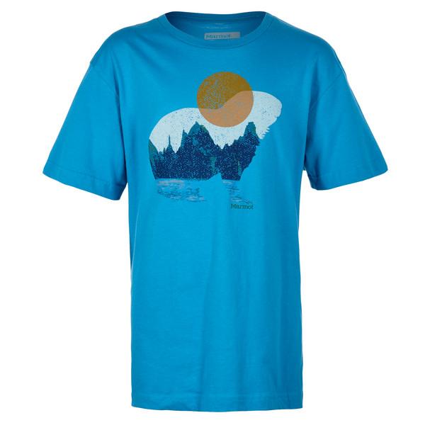 Marmot Boy's Alpine Zone Tee SS Kinder - T-Shirt