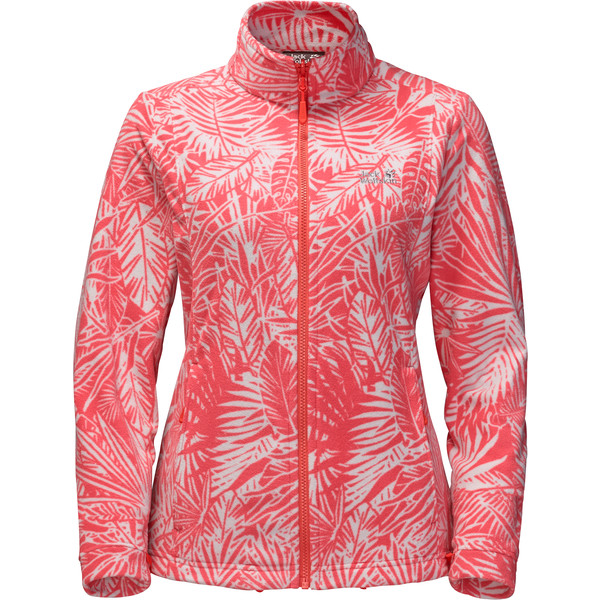 Jack Wolfskin Kiruna Jungle Frauen - Fleecejacke