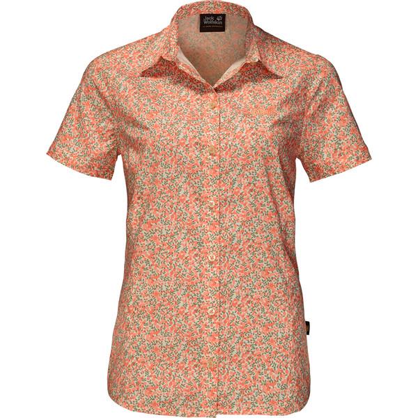 Jack Wolfskin SONORA MILLEFLEUR SHIRT Frauen - Outdoor Bluse