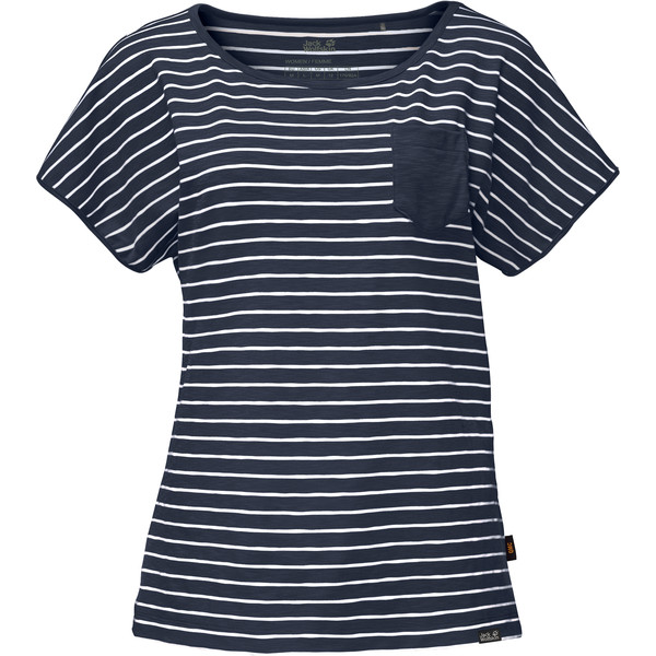 Jack Wolfskin Travel Striped T Frauen - Funktionsshirt