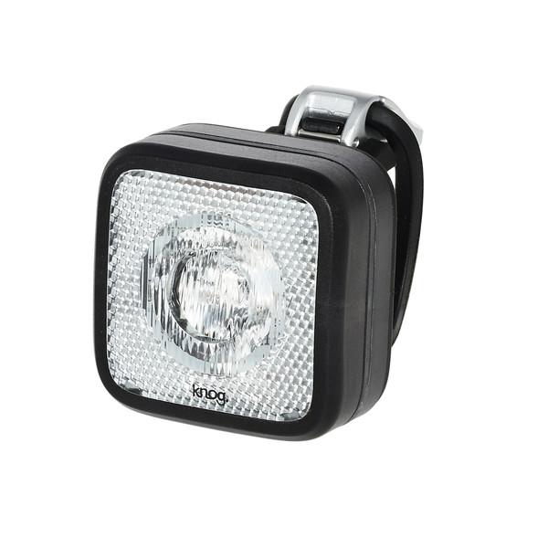 Knog KNOG BLINDER MOB FAHRRADLAMPE, STVZO, WEIßE LED, BLACK/BLACK Unisex - Fahrradbeleuchtung