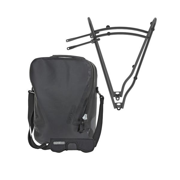Ortlieb Single-Bag QL3.1 + Rack 1 (Set) - Fahrradtaschen