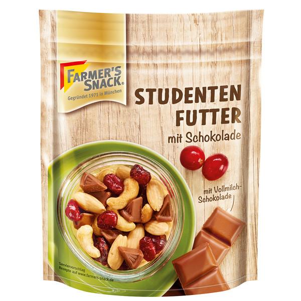 Farmer's Snack Studentenfutter mit Schokolade - Outdoor Essen