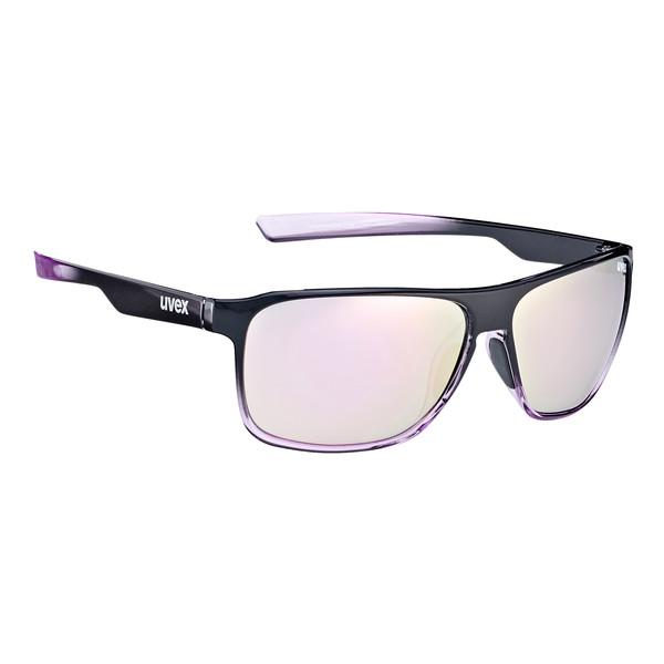Uvex LGL 33 Pola - black purple/mirror purple WlCZuIDjx5
