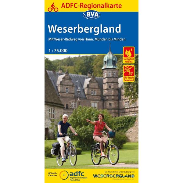 ADFC-Regionalkarte Weserbergland