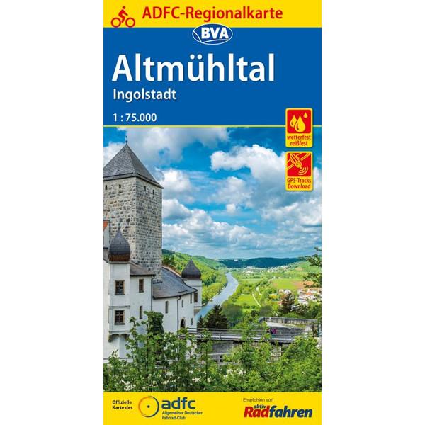 ADFC-Regionalkarte Altmühltal