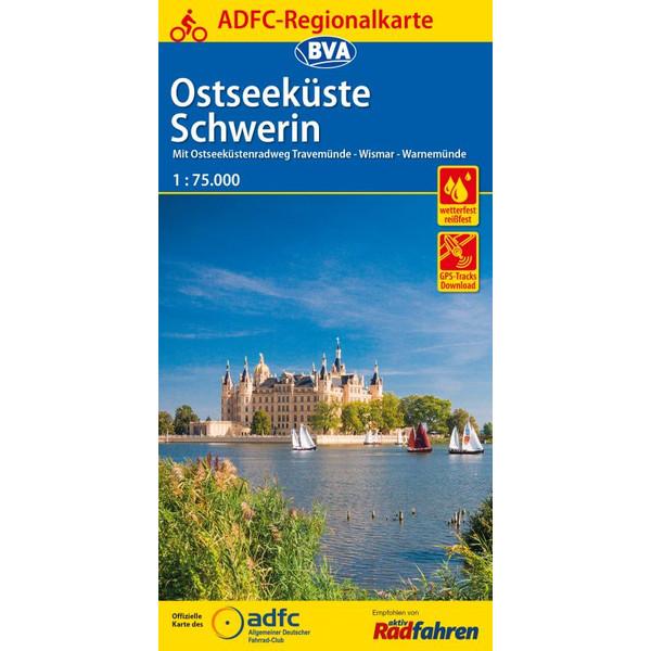 ADFC-Regionalkarte Schwerin Ostseeküste