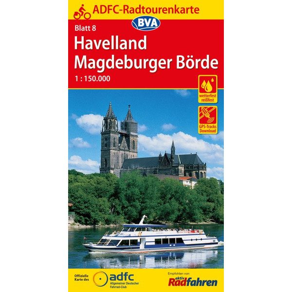 ADFC-Radtourenkarte 8 Havelland