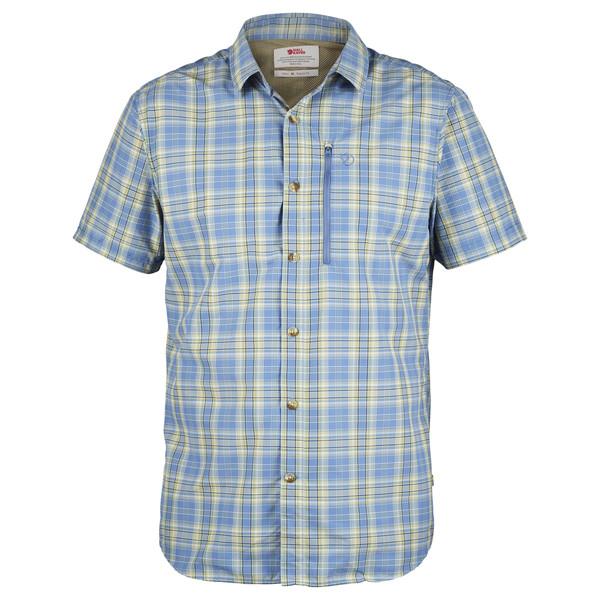 Fjällräven ABISKO HIKE SHIRT SS M Männer - Outdoor Hemd