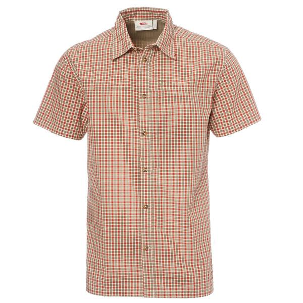 Fjällräven Svante Seersucker Shirt SS Männer - Outdoor Hemd