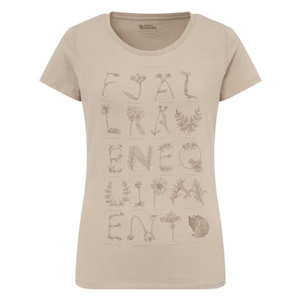 Fjällräven Alphabotanical T-Shirt Frauen - T-Shirt
