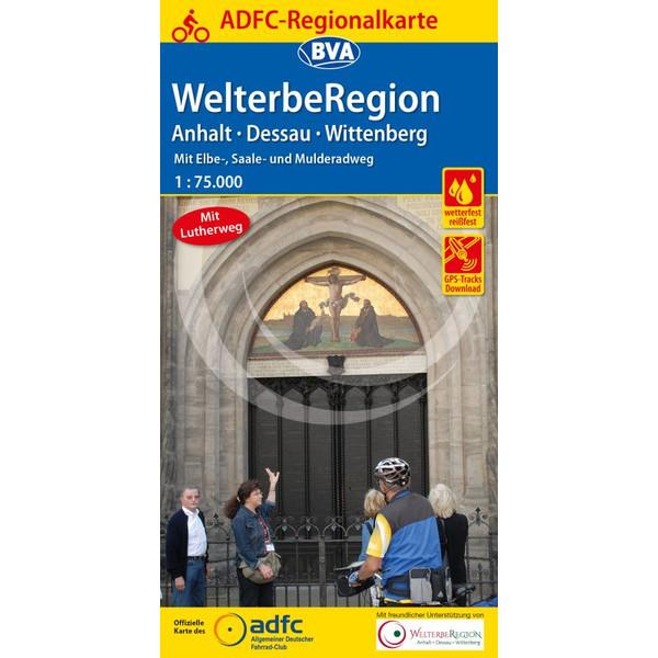 ADFC-Regionalkarte WelterbeRegion