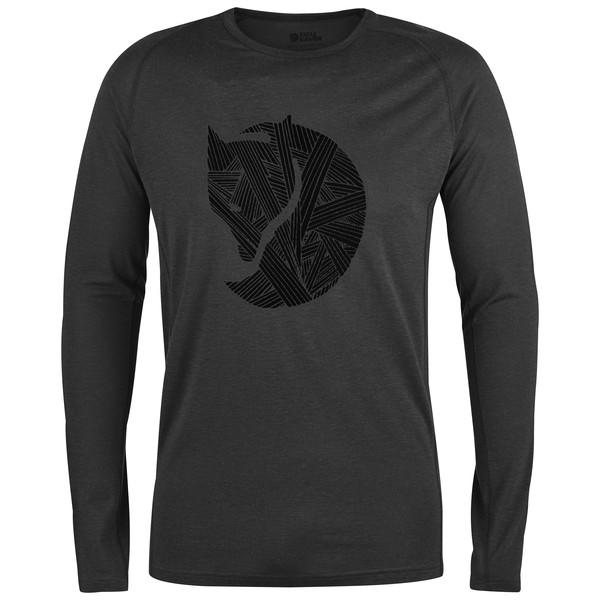 Fjällräven Abisko Trail T-Shirt Print LS Männer - Langarmshirt