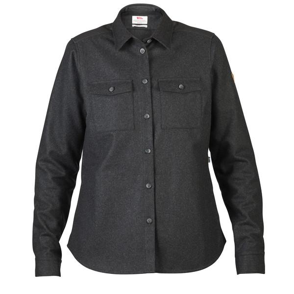Fjällräven Övik Re-Wool Shirt Frauen - Outdoor Bluse