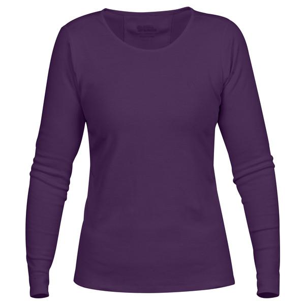 Fjällräven Övik Long Sleeve Top W Frauen - Langarmshirt