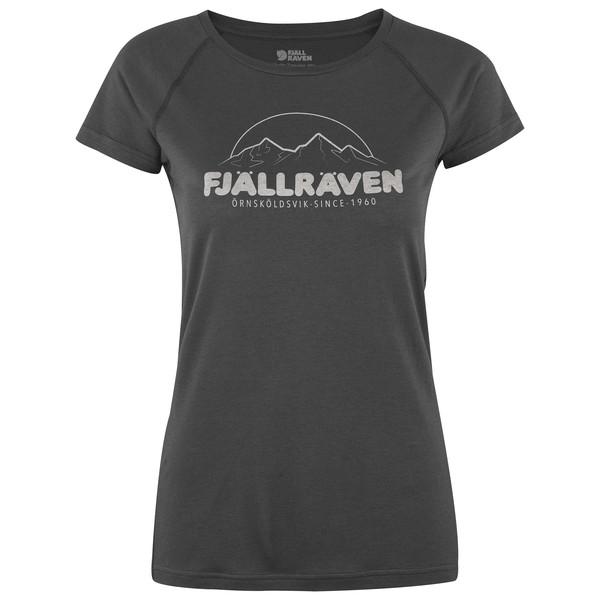 Fjällräven Abisko Trail T-Shirt Print Frauen - Funktionsshirt