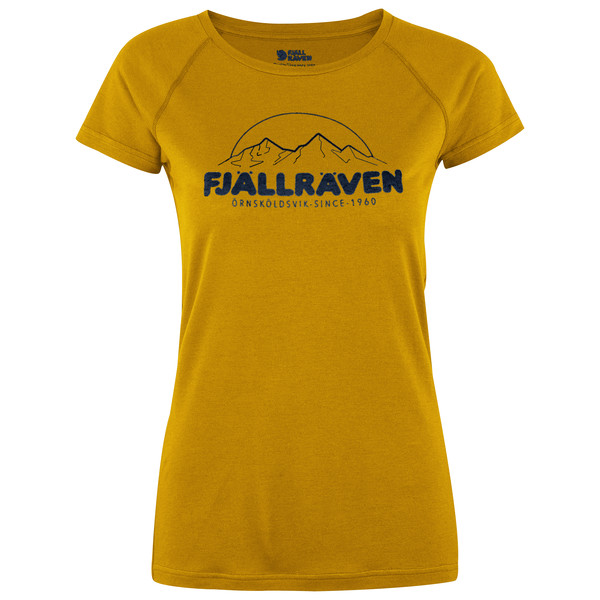 Fjällräven Abisko Trail T-Shirt Prin Frauen - Funktionsshirt