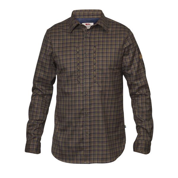 Fjällräven Lappland Flannel Shirt LS Männer - Outdoor Hemd