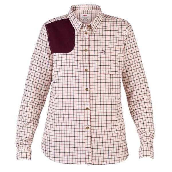Fjällräven Sörmland Flannel Shirt Frauen - Outdoor Bluse